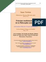 Newton,Isaac - Principes mathématiques de la philosophie naturelle - Tome2 - Livre3 - 1 (Uqac)
