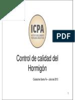 Icpa Control Calidad Hormigon