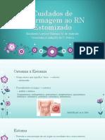 Cuidados Enferm RN Estomatizado