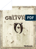 Elder Scrolls Oblivion Manual