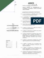 Arrêté 299 Mef Dc Sgm Cf Du 18-02-2013
