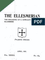 The Ellesmerian 1919 - April - XXXII - 184