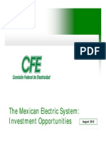 Cfe Sector Electrico Mexicano 2010 Ingles
