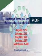 Normativa Ambiental Venezolana Otros