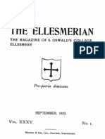 The Ellesmerian 1923 - September - XXXV - 001