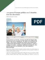Mapa Politico 2015 Colombia