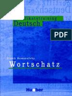 Zertifikatstraining Deutsch Wortschatz Bun