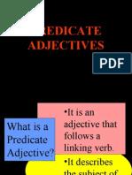 Pred Adjectives and Irregulars