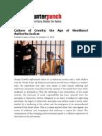 Giroux - Culture of Cruelty