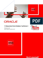 11 Things About 11gR2 by Tom Kyte (oracle)