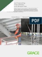 Grace Spray Applied Fireproofing Education Brochure
