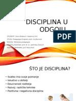 Disciplina u Odgoju