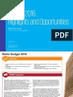 Malta Budget 2016