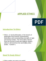 PPT on Applied Ethics