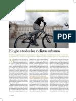 Elogio a Todos Los Ciclistas Urbanos