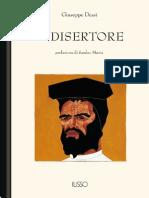 Il Disertore - Giuseppe Dessì