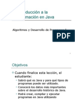 Introduccion a Java