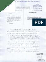 COR Clearing, LLC v. Calissio Resources Group, Inc. et al  Doc 33 filed 26 Oct 15.pdf