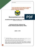 Radio Troncalizado Tetra Muni La Molina 2014