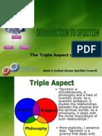 Spiritism Triple Aspect