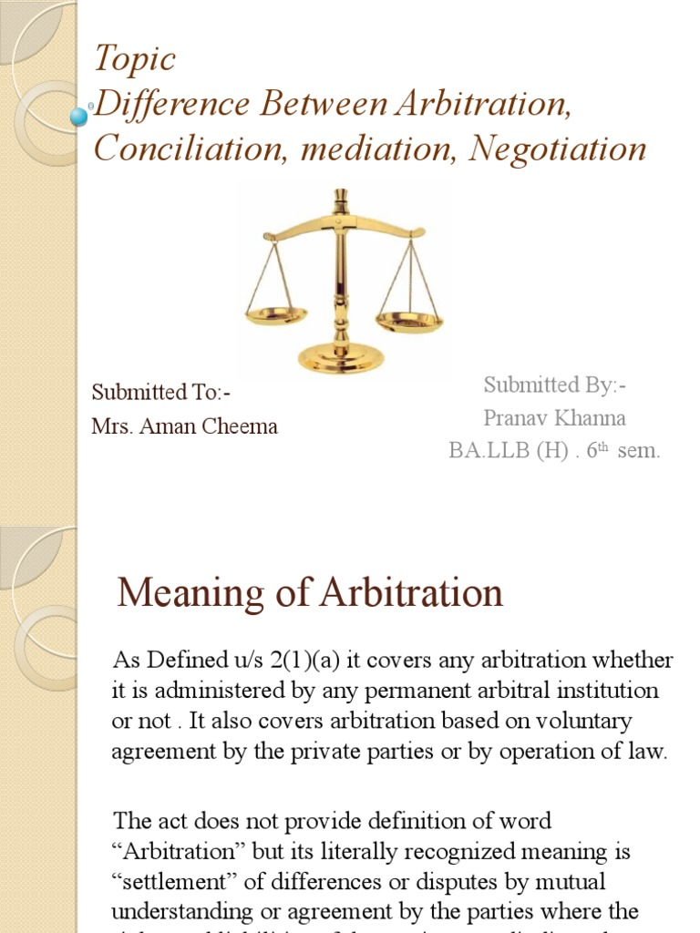 Difference between arbitration conciliation negotiation and mediation stopboris Images