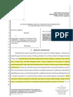 October 20, 2015 -- Renewed Motion for Default (highlighted).pdf