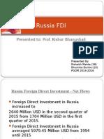 Russia FDI
