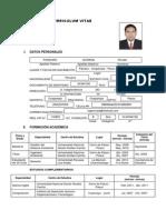 Cv. Ing. Amb. Ronald Panduro Durand