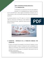 Trabajo de Didáctica y Tecnología Educativa