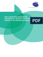 Professional Standards for Itts 020107