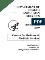 CMS FY 2009 Internatl Report