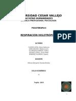 Monografia Respiración Holotropica