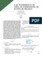 Teorema de Máxima Transferencia de Potencia y Otros Teoremas