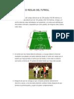 13 Reglas Del Futboll