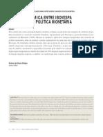 RELAÇÃO DINÂMICA ENTRE IBOVESPA_FGV