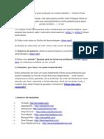 Dicas e Estratégias Para Produção de Material Didático