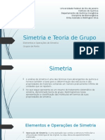 Simetria e Teoria de Grupo