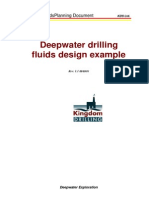 Deep Water Drilling Fluid Design Example