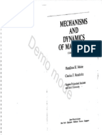 Mabie & Reinholtz - Mechanisms and Dynamics of Machinery 4ªed