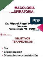 Farmacologia - Aparato Respiratorio