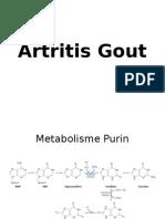 Artritis Gout FK Unbrah