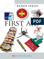 First Aid Merit Badge Pamphlet 35897
