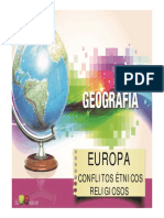 9ano Aula Europa Conflitos Etnicos Religiosos