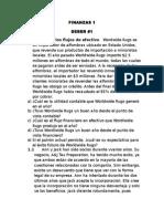 Finanzas 2015 Deber No. 1