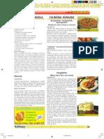 Culinaria Espanhola e Hungara