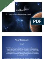 Sun, Moon, And Earth Power Point
