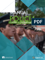 Viteri Custodio,Daniela Damaris - Manual Para La Policia. Contra La Discriminacion