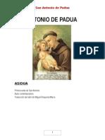 Biografia de San Antonio de Padua