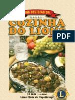 Livro de Receitas Do Lions