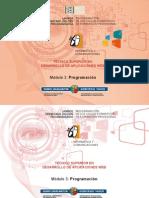 Módulo 3 - PROGRAMACIÓN